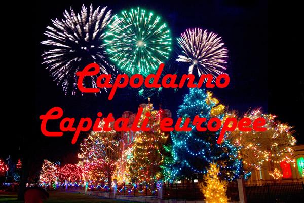 Capodanno capitali europee