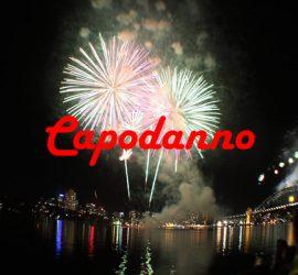 fuochi artificio a Capodanno