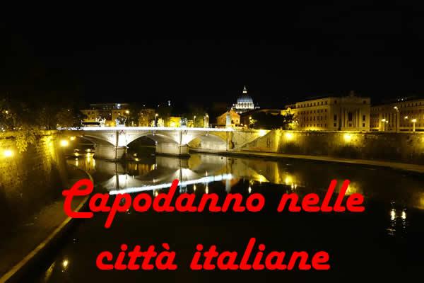 Capodanno città italiane