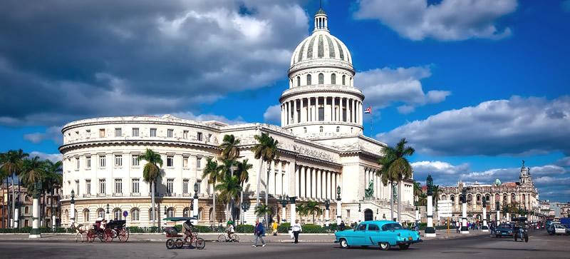 vista della città della Havana a Cuba