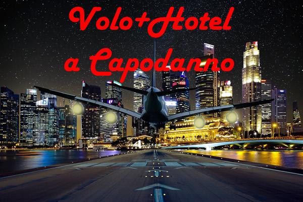 Volo+hotel a Capodanno