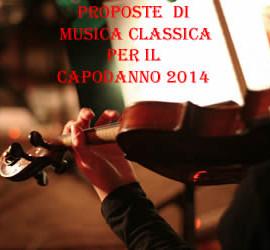 concerto di musica classica per il Capodanno 2014