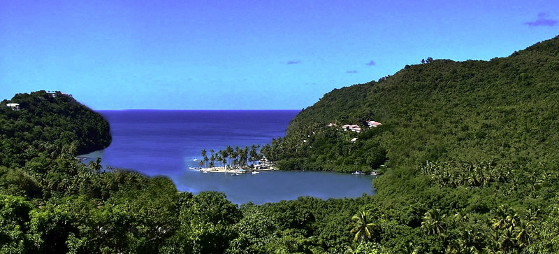 Marigot Bay uno scorcio incentecole di Saint Martin