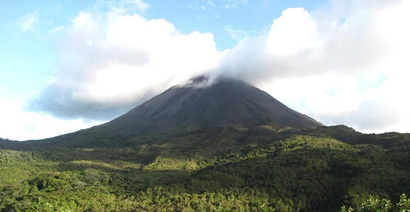 vista vulcano Costa Rica