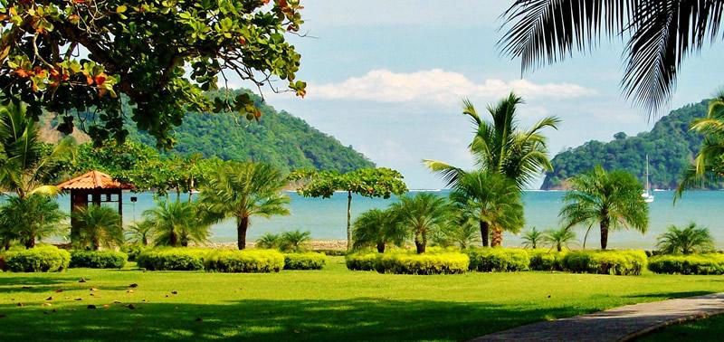 vista mare di villaggio in Costa Rica