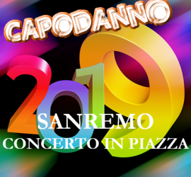 Capodanno 2019 a San Remo con The Kolors