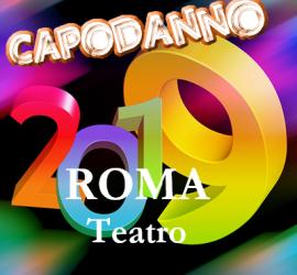 Spettacolo a teatro di Capodanno 2019