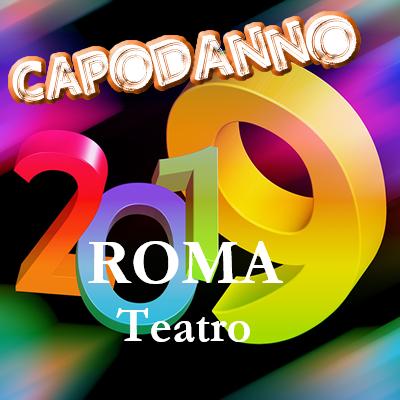 Spettacolo teatrale per il Capodanno 2019 di Gigi Proietti a Roma